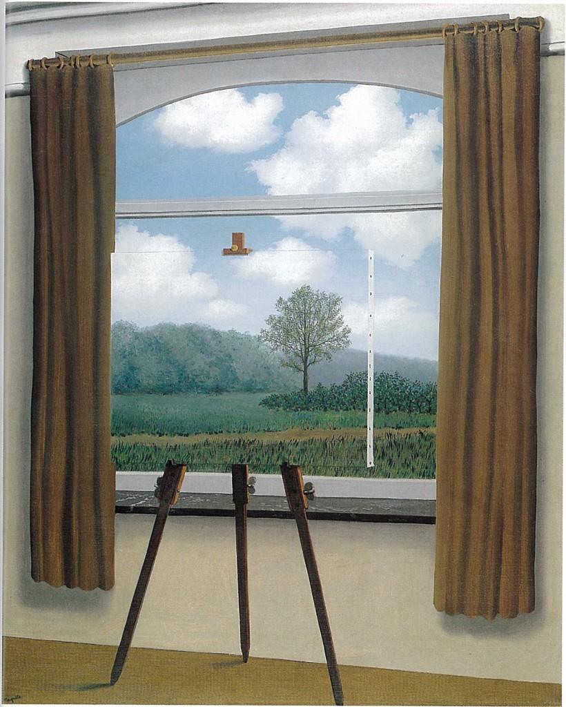La condizione umana, Magritte