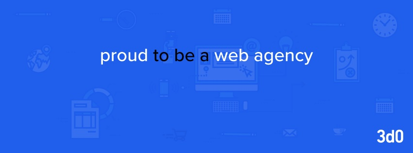 proud to be a web agency